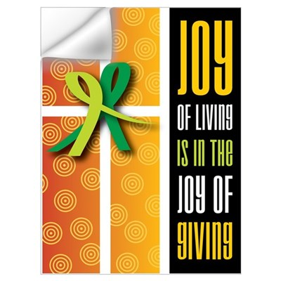 Joy of Giving Collection Wall Decal