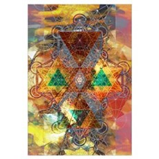 Metatron Colorscape Framed Print