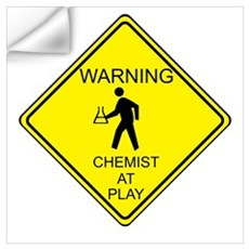 Chemist at Play Wall Decal