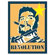 Guevara House Music Revolution Poster