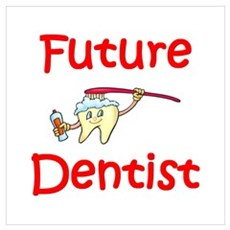 Future Dentist Framed Print