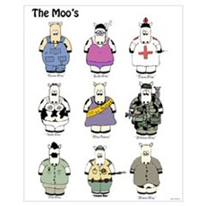 The Moo's s Canvas Art