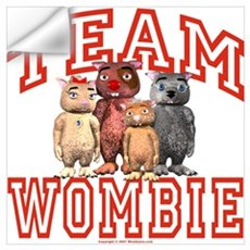 Team Wombie Wall Decal