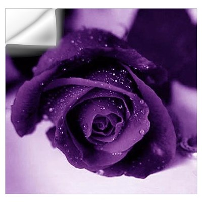 Purple Rose Wall Decal