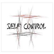 Martial Arts Self Control Poster