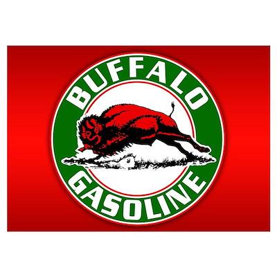 Buffalo Gasoline Poster
