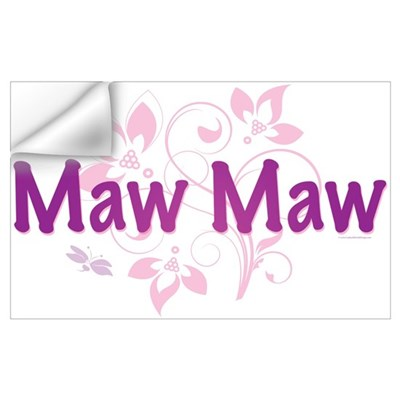 Maw Maw Wall Decal