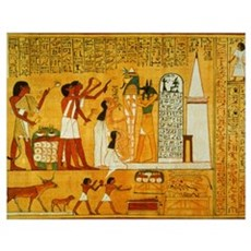Egyptian Art Poster