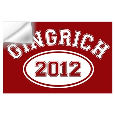 Gingrich 2012 Wall Decal