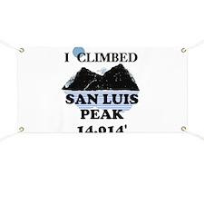 San Luis Peak Banner