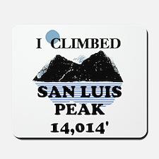 San Luis Peak Mousepad