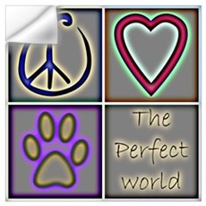 Perfect World: Dogs (ALT) Wall Decal