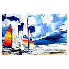 Catamarans Poster