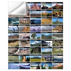 National Park & Monument Wall Decal