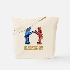 Rock'em Sock'em Paper Scissor Tote Bag