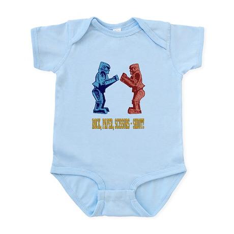 Rock'em Sock'em Paper Scissor Infant Bodysuit