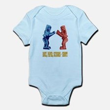 Rock'em Sock'em Paper Scissor Infant Bodysuit