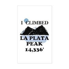 La Plata Peak Decal