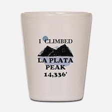La Plata Peak Shot Glass