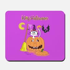 Kitty Halloween Mousepad