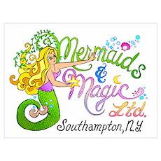Mermaids and Magic Poster