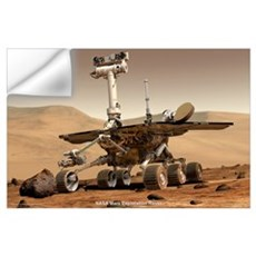 "35"" x 23"" NASA JPL Mars Rover Wall Decal"