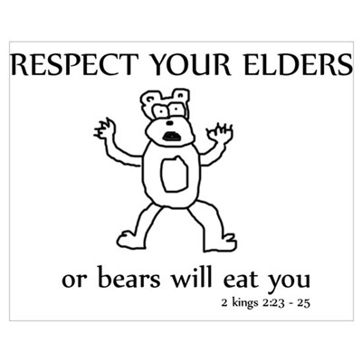 16 x 20 in. - perfect for sunday school ! Poster
