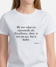 Aristotle quote 104 Women's T-Shirt
