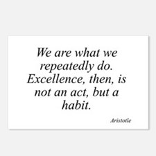 Aristotle quote 104 Postcards (Package of 8)