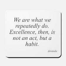 Aristotle quote 104 Mousepad