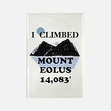 Mount Eolus Rectangle Magnet