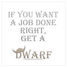 Dwarven Job Poster