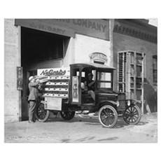 Soda Pop Delivery Truck, 1924 Poster