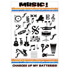 Charged Up With MUSIC! Poster