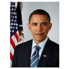 OFFICIAL PRESIDENT BARACK OBAMA PORTRAIT PRINT Poster