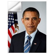 OFFICIAL PRESIDENT BARACK OBAMA PORTRAIT PRINT Wall Decal