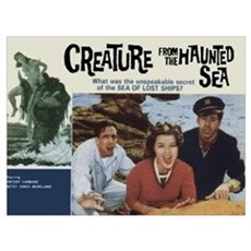 The Creature From The Haunted Poster