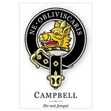 Clan Campbell Poster