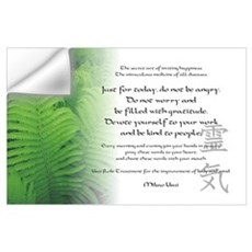 Reiki Principles Wall Decal
