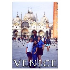 "Venice ""watercolor"" 2 Framed Print"