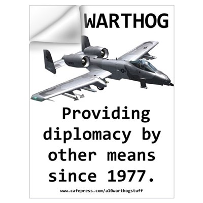 "A10 ""Warthog"" Wall Decal"