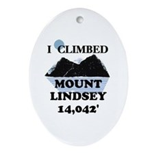 Lindsey Ornament (Oval)