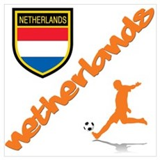 NETHERLANDS SOCCER Canvas Art