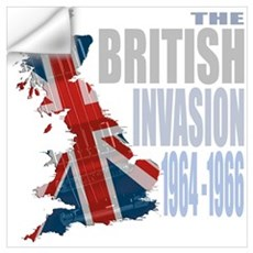 British Invasion Wall Decal