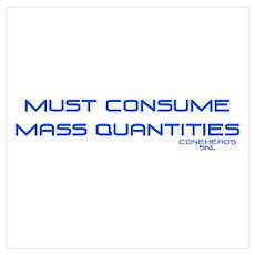SNL Mass Quantities Poster