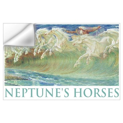 NEPTUNE'S HORSES Wall Decal
