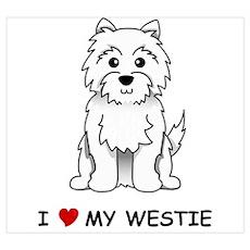 Westie Poster