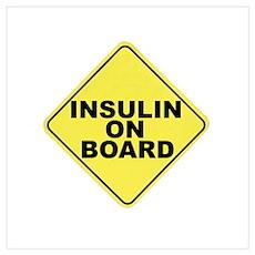 Insulin on board Poster