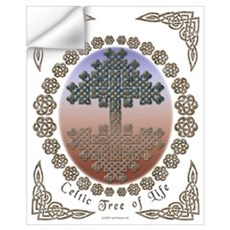 Celtic Tree of Life Wall Decal