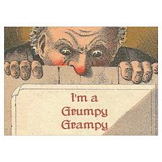 Grumpy Grampy Poster
